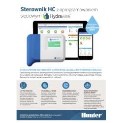 Hunter HC 601- IE Sterownik nawadniania, WiFi, 6 sekcji