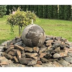 FONTANNA z kamienia naturalnego GLOBUS