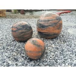 FONTANNA OGRODOWA z kamienia naturalnego KULA GRANIT