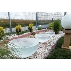 Fontanna ogrodowa PÓŁKULA szklana