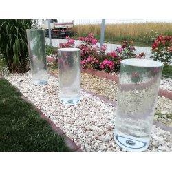 Fontanna ogrodowa CYLINDER szklany