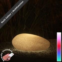 FLAT 40 Lampa owal LED RGB + pilot biała IP44