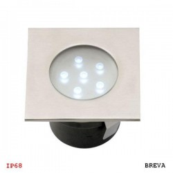 BREVA oprawa najazdowa/podwodna LED 1W biały