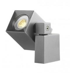 NANO LED reflektor kierunkowy Alu szary